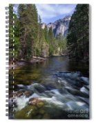 Merced River, Yosemite National Park Spiral Notebook