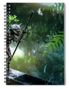 Messing About On The River Spiral Notebook
