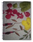 Moms Hand Embroidery Spiral Notebook