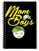 Mothers Day Mothersday Best Mom Gift Spiral Notebook
