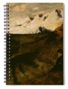 Mountains Near Innsbruck  Spiral Notebook