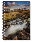 Mountains North Wales Spiral Notebook
