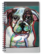 Neon Bulldog Spiral Notebook