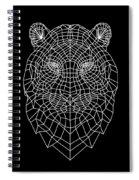 Night Tiger Spiral Notebook