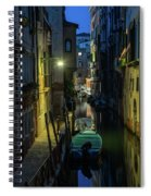 Night Walk In Venice Spiral Notebook