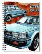 Nissan Bluebird Sw Spiral Notebook
