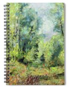 On The Edge Of The Marsh Spiral Notebook