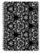 Ornate Pattern Drawing Spiral Notebook