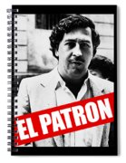 Pablo Escobar Spiral Notebook