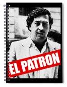 Pablo Escobar Spiral Notebook