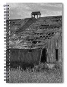 Palouse Barn 9933 Spiral Notebook