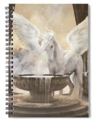 Pegasus Spiral Notebook