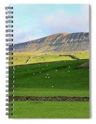 Penyghent In Yorkshire Dales National Park North Yorkshire Spiral Notebook