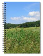 Photography Landscape With Fields In Germany Spiral Notebook