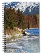 Portage Creek Portage Glacier Highway, Alaska Spiral Notebook