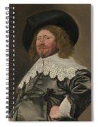 Portrait Of A Man  Possibly Nicolaes Pietersz Duyst Van Voorhout  Spiral Notebook