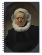 Portrait Of Aechje Claesdr   Spiral Notebook