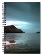 Rhossili Bay And Worms Head Spiral Notebook