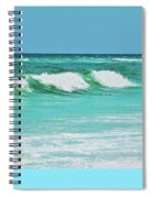 Rolling Waves Spiral Notebook