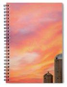 Rural Skies Spiral Notebook