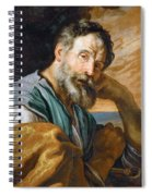 Saint Peter Repenting  Spiral Notebook