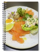 Seafood Platter Spiral Notebook