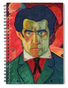 Self Portrait, 1910 Spiral Notebook