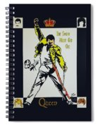 Show Must Go On Spiral Notebook