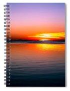 Spectacular Sunset Spiral Notebook