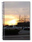 Sunset 7 Spiral Notebook