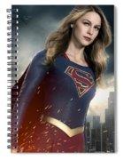 Supergirl Spiral Notebook