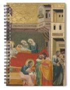 The Birth, Naming, And Circumcision Of Saint John The Baptist Spiral Notebook