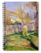 The Blue House  Spiral Notebook