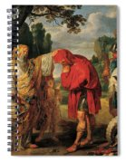 The Consecration Of Decius Mus        Spiral Notebook