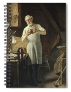 The Coppersmith  Spiral Notebook