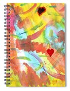 The Dance Of Spring Spiral Notebook
