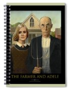 The Farmer And Adele Spiral Notebook