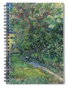The Garden Of The Asylum At Saint-remy Spiral Notebook