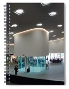 The New Art Center In Taiwan Spiral Notebook