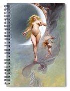 The Planet Venus Spiral Notebook
