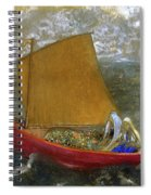 The Yellow Sail, 1905 Spiral Notebook