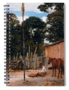 Tightening The Saddle Spiral Notebook