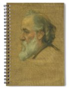 Title Sketch Of Alphonse Legros Spiral Notebook