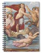Triumph Of Galatea, Detail Spiral Notebook