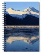 Turnagain Arm And Kenai Mountains Alaska Spiral Notebook