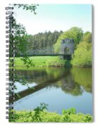 Union Bridge At Horncliffe On River Tweed Spiral Notebook