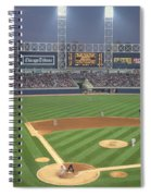 Usa, Illinois, Chicago, White Sox Spiral Notebook