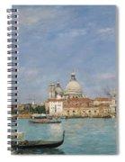 Venice, Santa Maria Della Salute From San Giorgio - Digital Remastered Edition Spiral Notebook