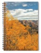 View Of Peaks Spiral Notebook