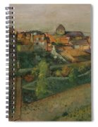 View Of Saint Valery Sur Somme  Spiral Notebook
